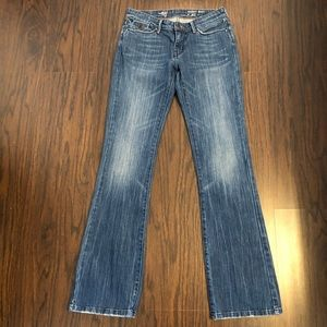 Levi's jeans eco skinny boot size 4 denim